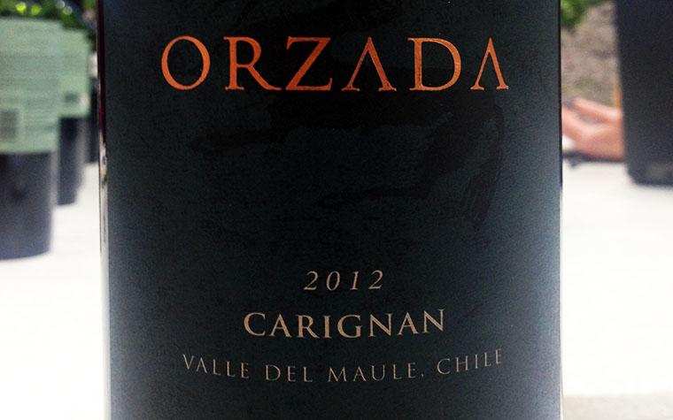 Odfjell, Orzada Carignan, Maule, Chile, 2012